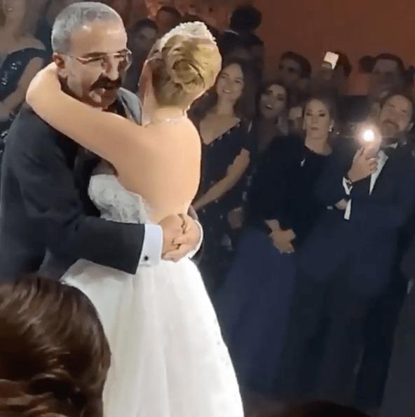 Nieta de Vicente Fernández, Sissi, se casa con Marcelo Garza