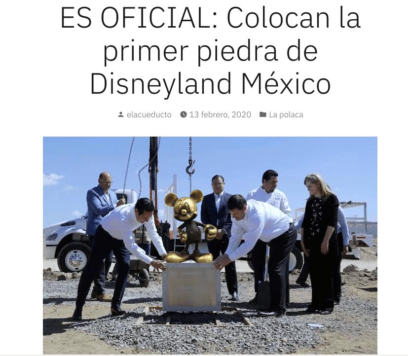 Memes de Disneylandia en Querétaro
