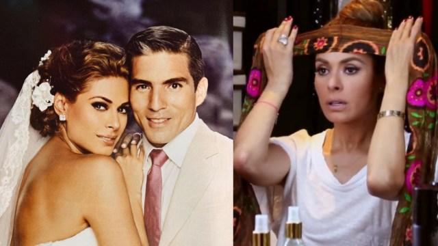 Galilea Montijo conoció a su esposo cuando él iba a casarse