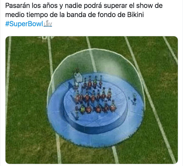 Memes show del medio tiempo super bowl 2020
