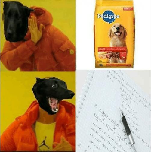 Memes pedigree malo para perros