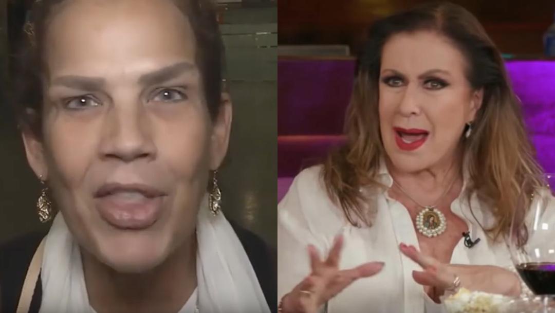 """Niurka le dice """"momia"""" a Laura Zapata en el aeropuerto"""