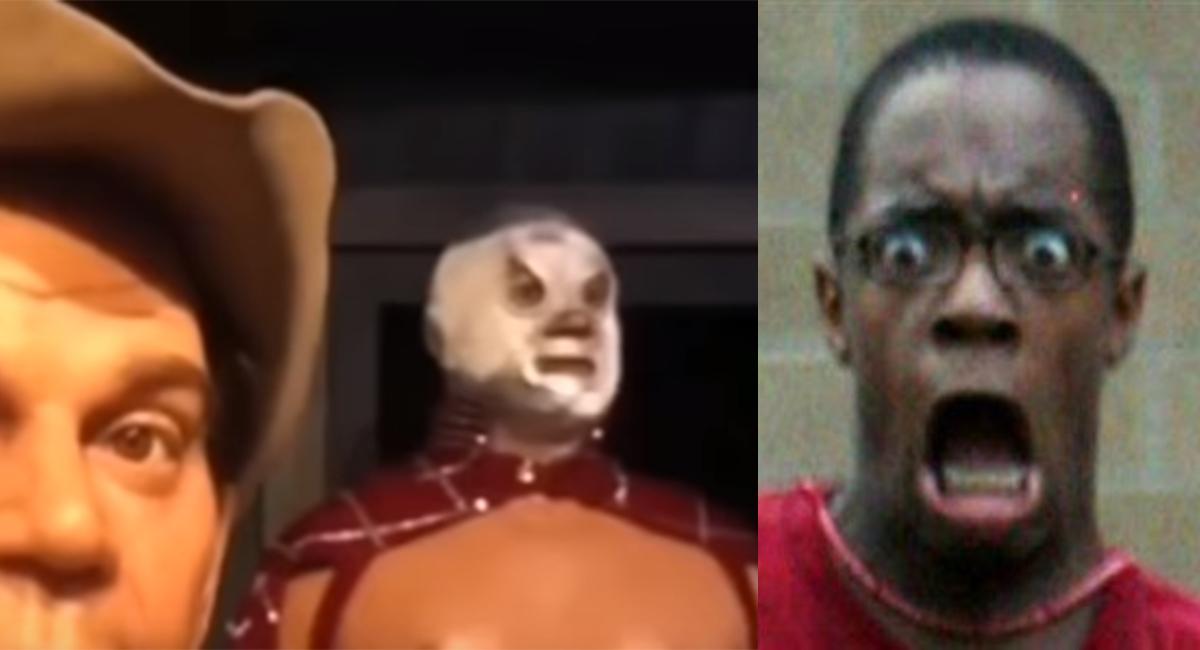 VIDEO: Fantasma de El Santo se aparece en Museo de Cera