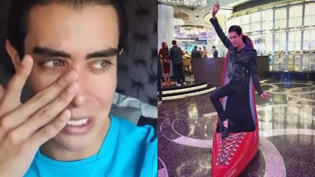 VIDEO: Influencer Mario Sierra Moncada llora por cuarentena