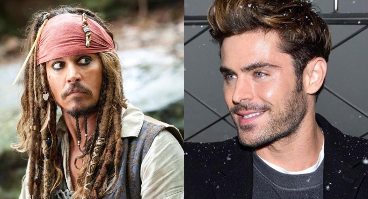 Piratas del Caribe: Zac Efron será el nuevo Jack Sparrow