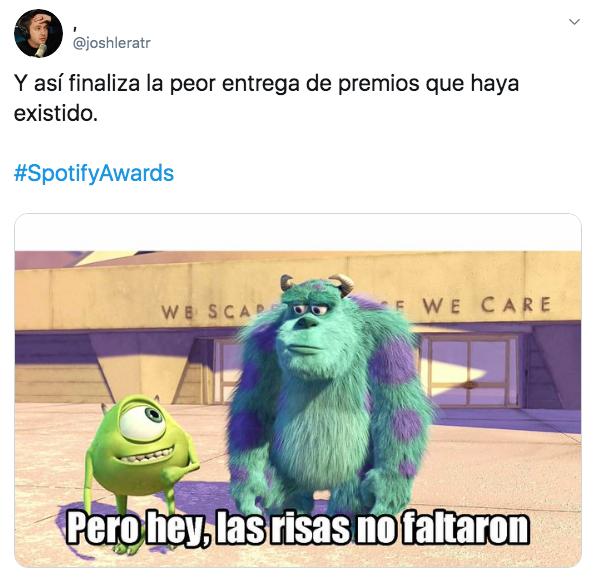Spotify Awards: los peores premios que México dio al mundo