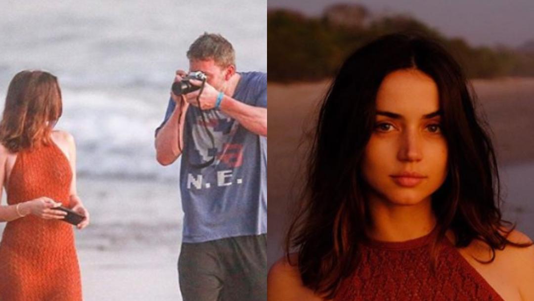 Ana de Armas confirma su relación con Ben Affleck con fotos
