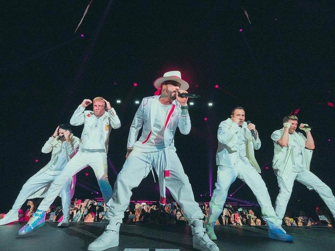 Backstreet Boys dan concierto en cuarentena