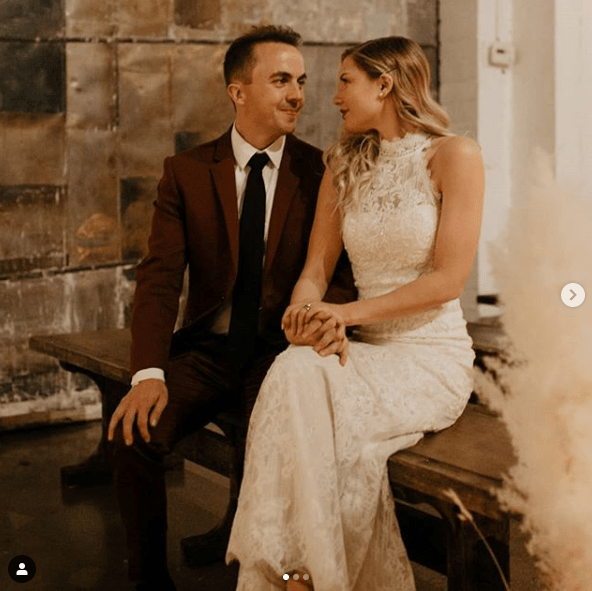 Frankie Muniz de Malcolm el de en medio se casó
