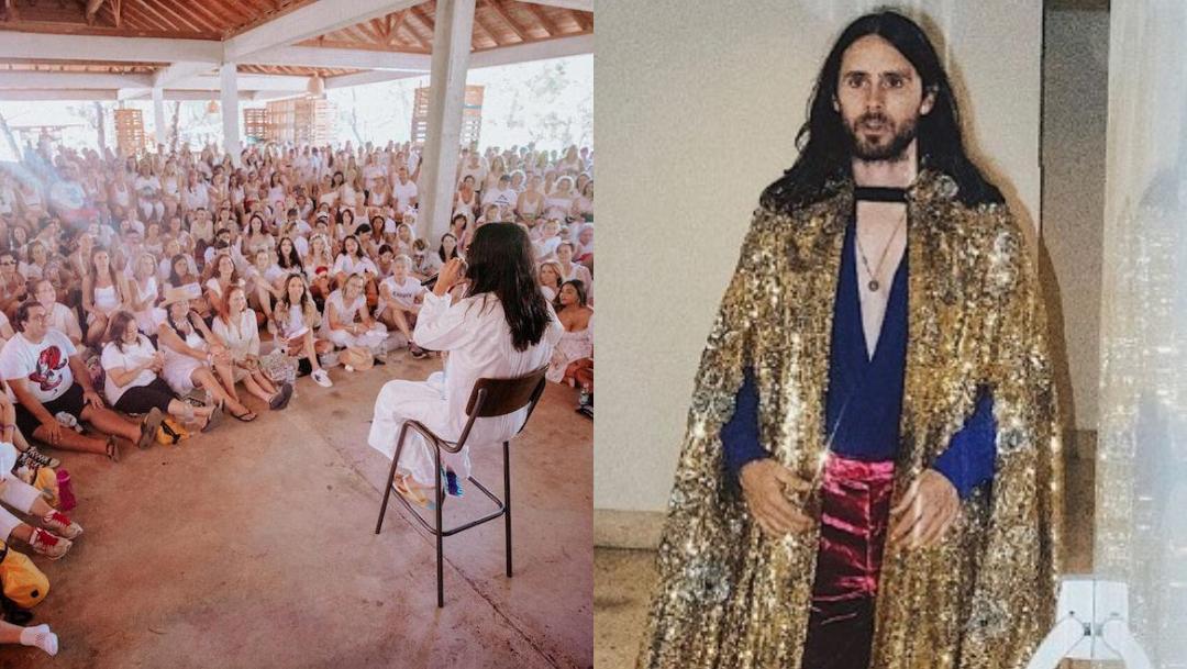 Jared Leto inicia culto en una isla donde él es el profeta