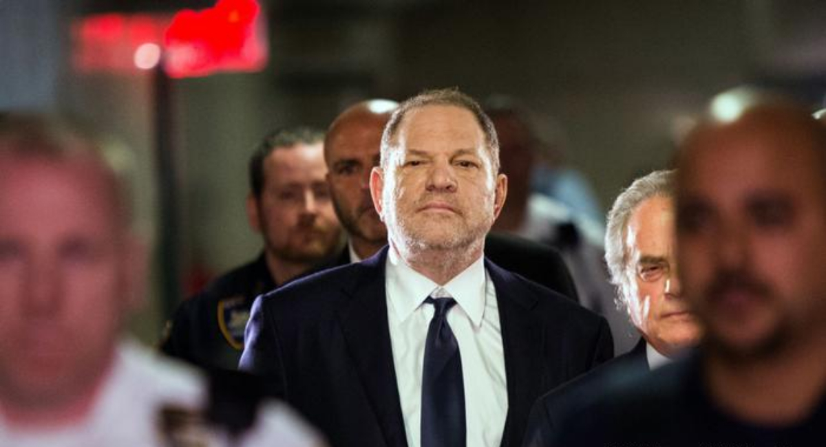 Harvey Weinstein sentencia d 23 años de cárcel por violación