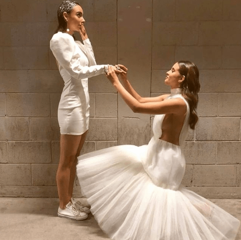 Paulina Goto le pidió matrimonio a Natalia Téllez