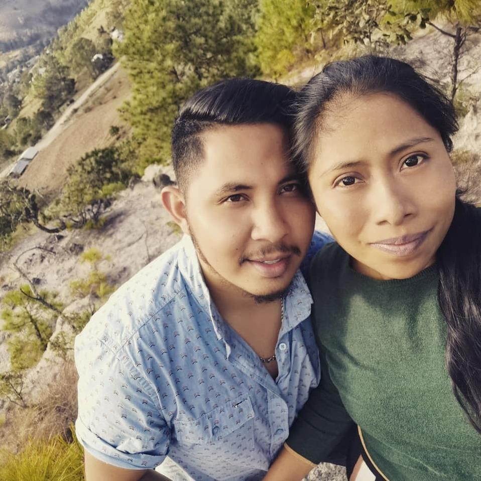 Yalitza Aparicio terminó con su novio André