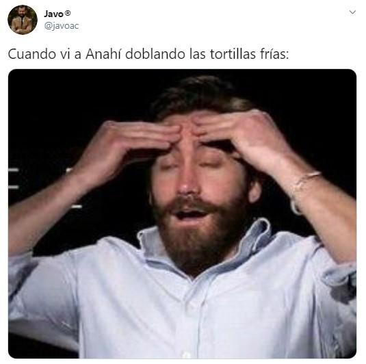 Anahí enfrijoladas memes