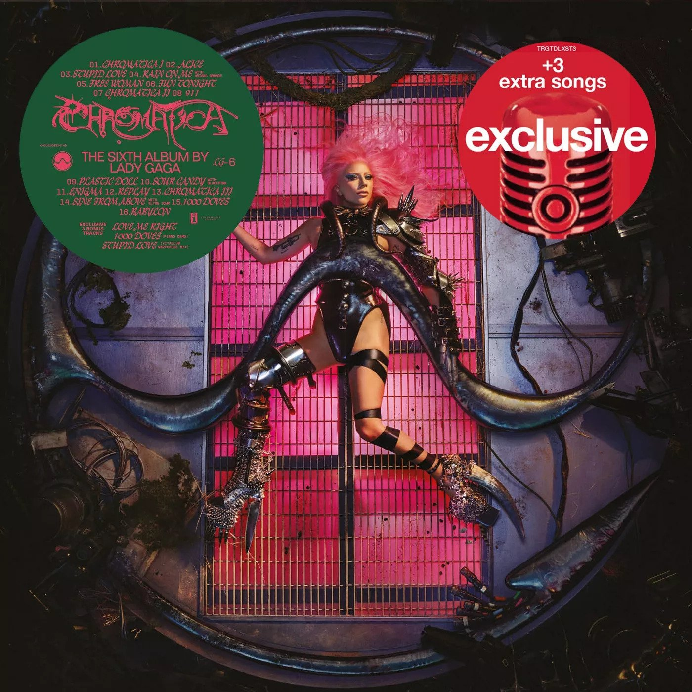 Portada de Chromatica, nuevo album de Lady Gaga con colaboración de BLACKPINK