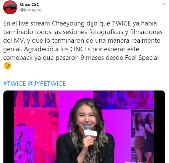"""TWICE anuncia comeback """"More N More"""" el 1 de junio"""