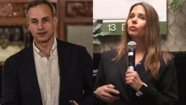 Arantxa Colchero separada de Hugo López-Gatell confirma