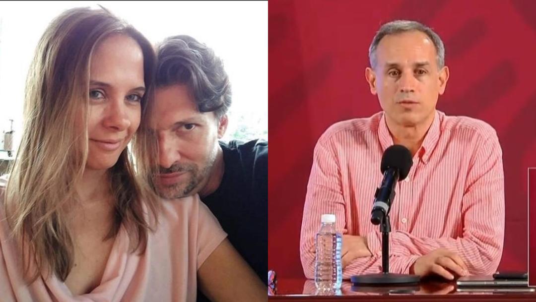 Arantxa Colchero, exesposa López-Gatell, tiene nuevo novio