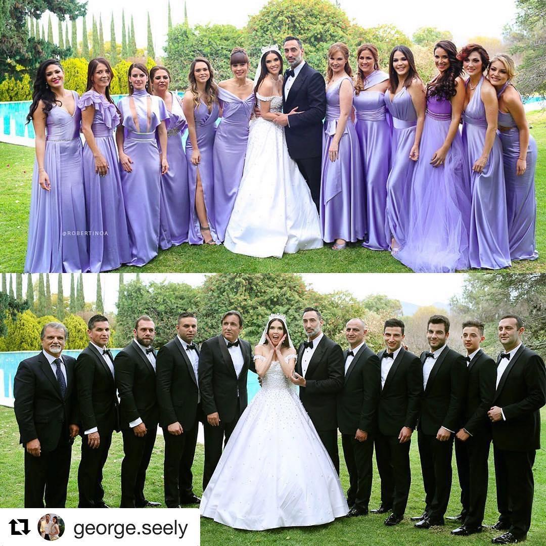 Altair Jarabo en la boda de Marlene Favela