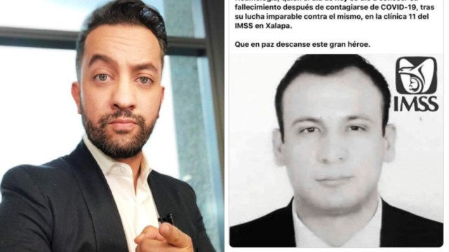 Chumel Torres comparte fake news d médicos muertos coronavirus e imss desmiente