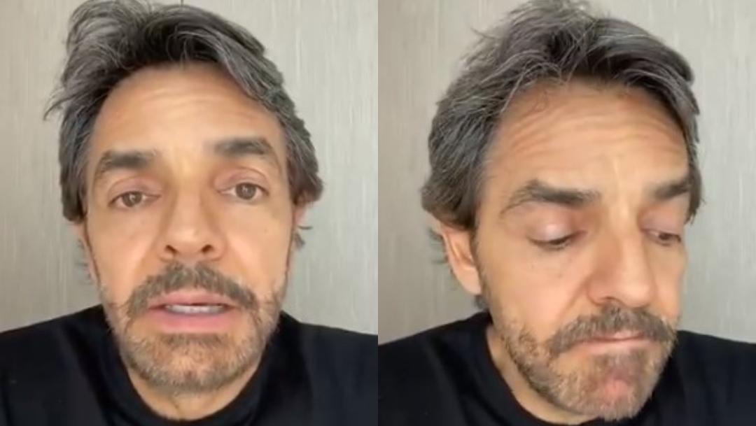 Eugenio Derbez fake news coronavirus; IMSS desmiente