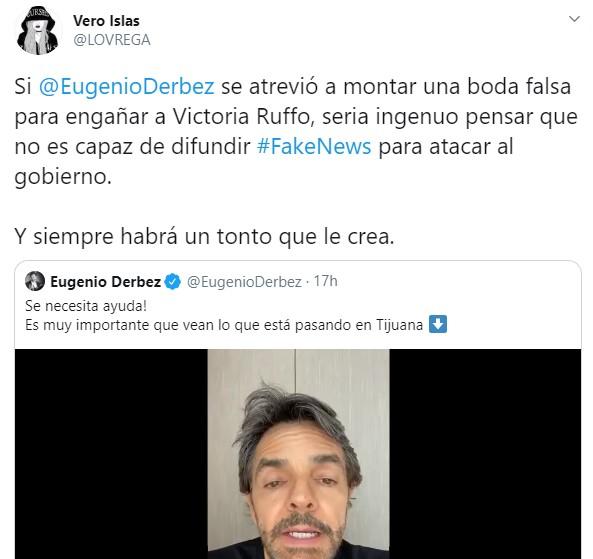 Eugenio Derbez comparte Fake News de Coronavirus en Tijuana, IMSS lo desmiente