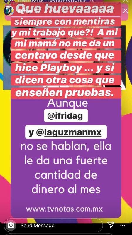 Frida Sofía responde a Alejandra Guzman