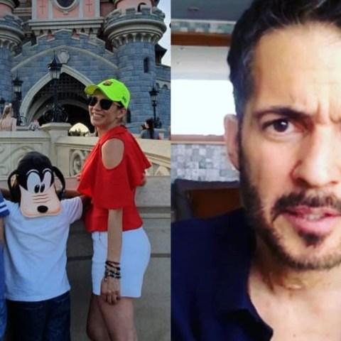 Sarampion: Hijos de Fernando del Solar e Ingrid Coronado tienen la enfermedad
