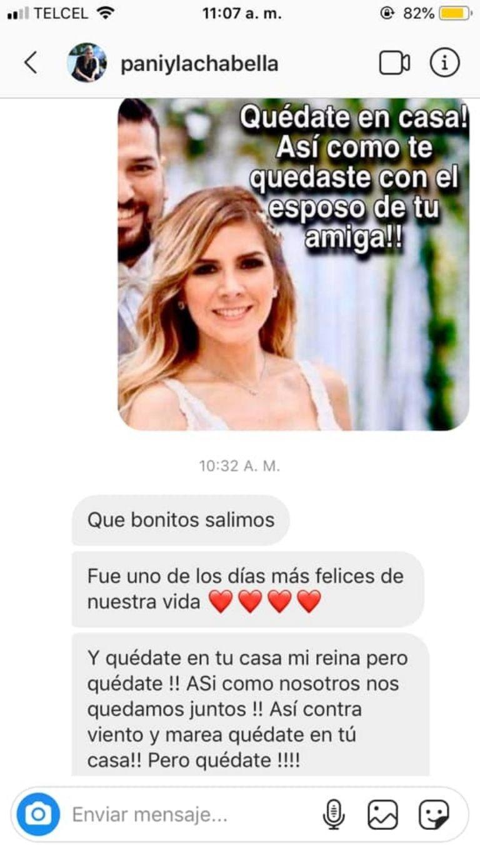 Recuerdan a Karla Panini la traicion a Karla Luna con Américo Garza