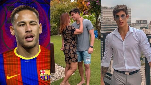 Mamá de Neymar termina novio Tiago Ramos tras descubrir gay