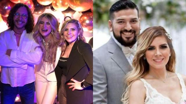 Oscar Burgos Karla Panini Americo Garza juntos en cuarentena