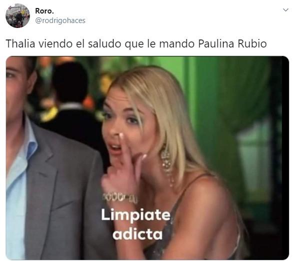 Paulina Rubio hace live drogada y genera polémica