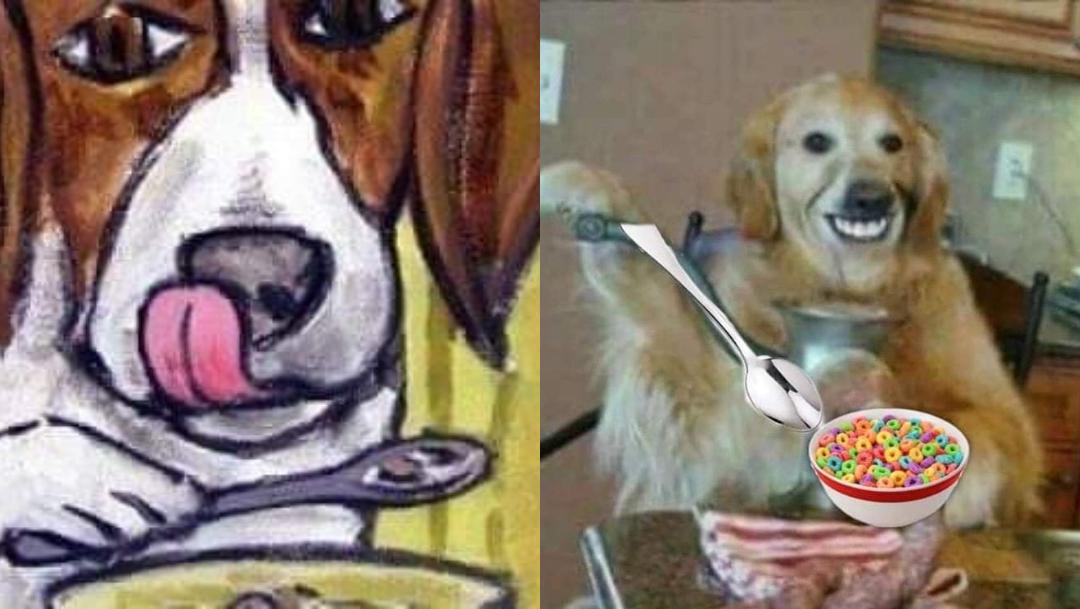 Perro comiendo cereal con cuchara historia real creepypasta