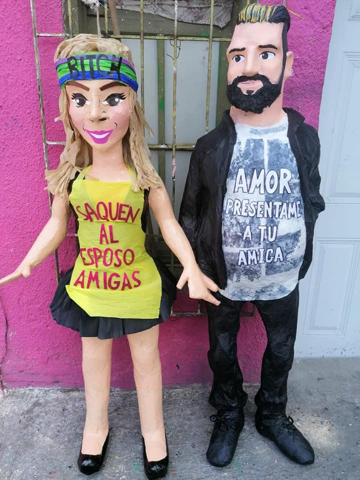 Esposo de Karla Panini amenaza a tienda de piñatas