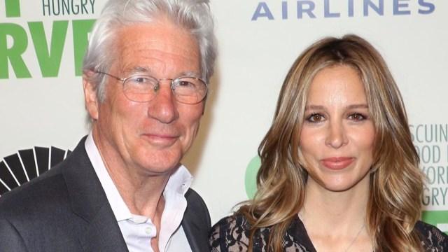 Richard Gere es papá a los 70 años con Alejandra Silva