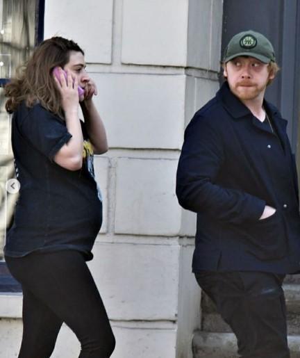 Rupert Grint espera a su primer hijo
