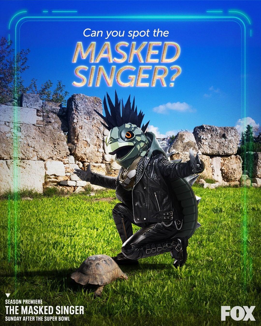 Turtle podría ser Chris Evans en The Masked Singer