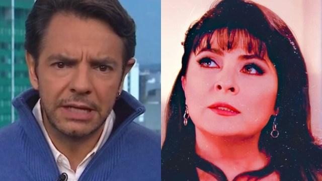 Victoria Ruffo responde Eugenio Derbez broma Omar Fayad