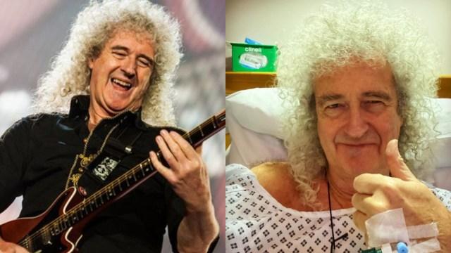 Brian May sufre infarto; es hospitalizado de emergencia