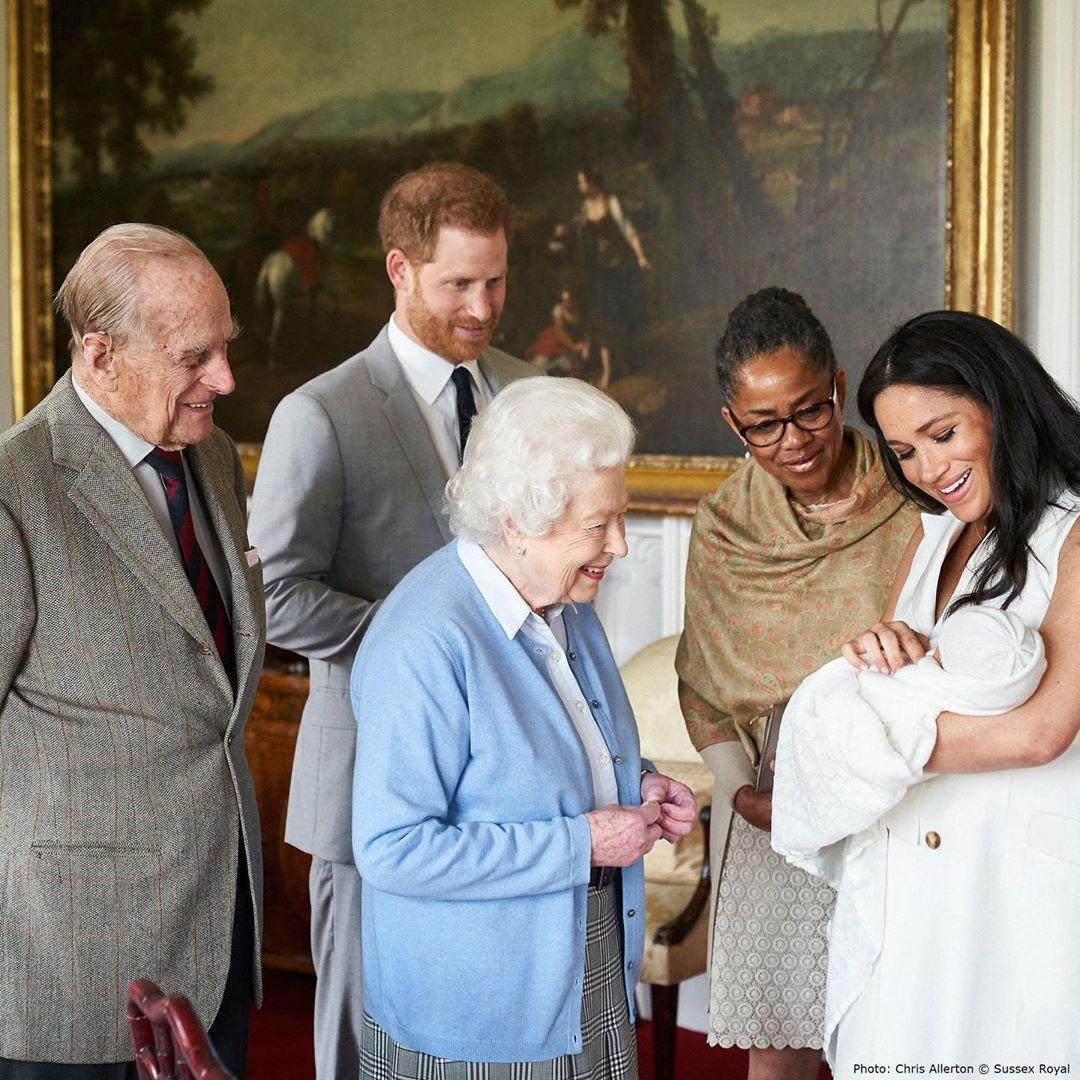 Hijo de Meghan Markle y el príncipe Harry cumple un año
