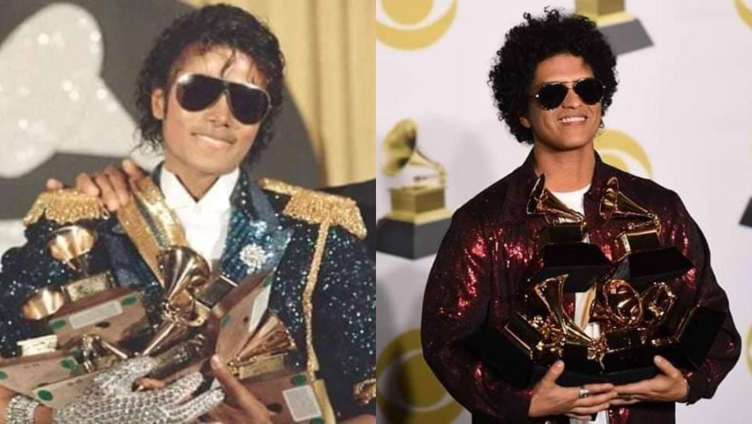 Bruno Mars es hijo de Michael Jackson