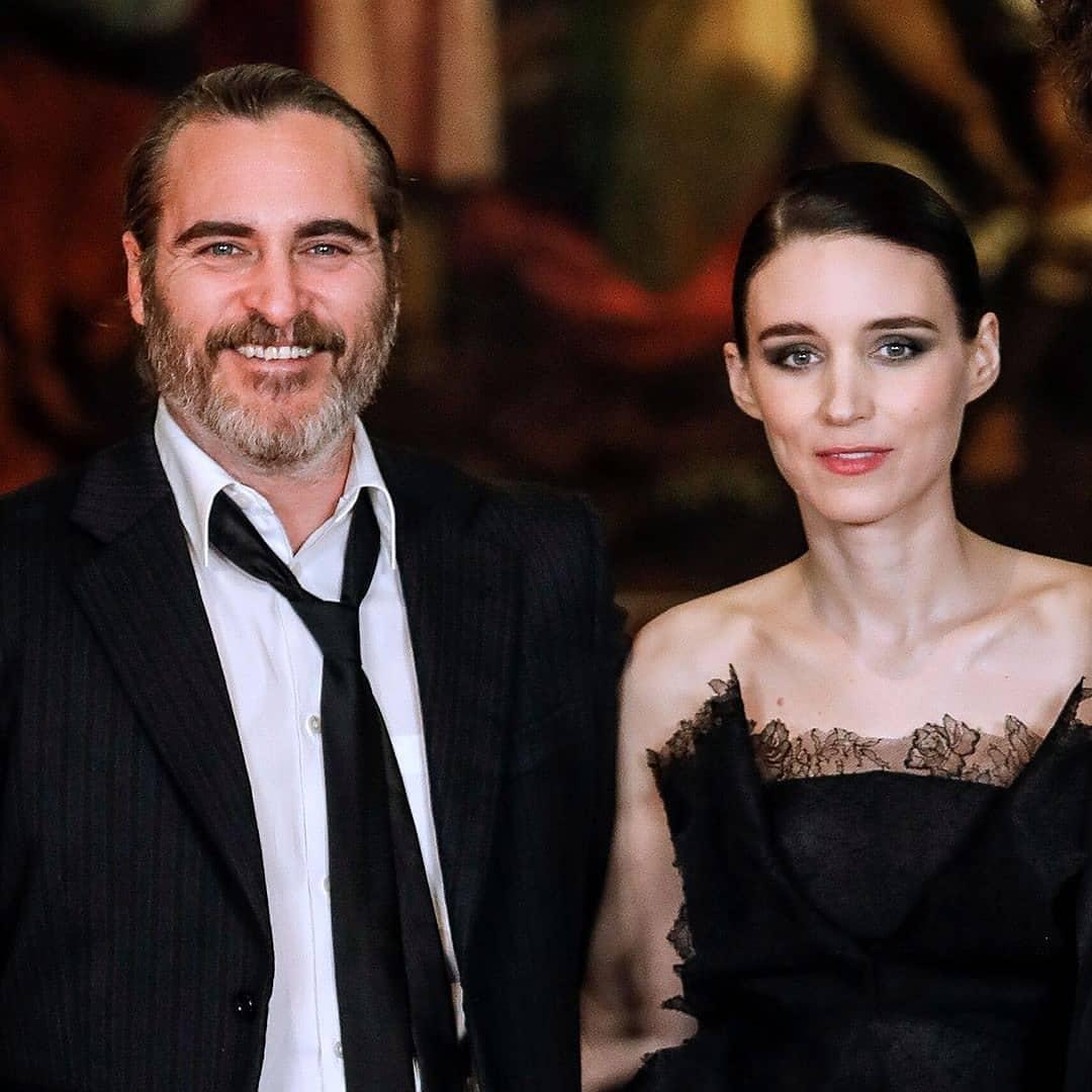 Joaquin Phoenix y Rooney Mara esperan a su primer hijo