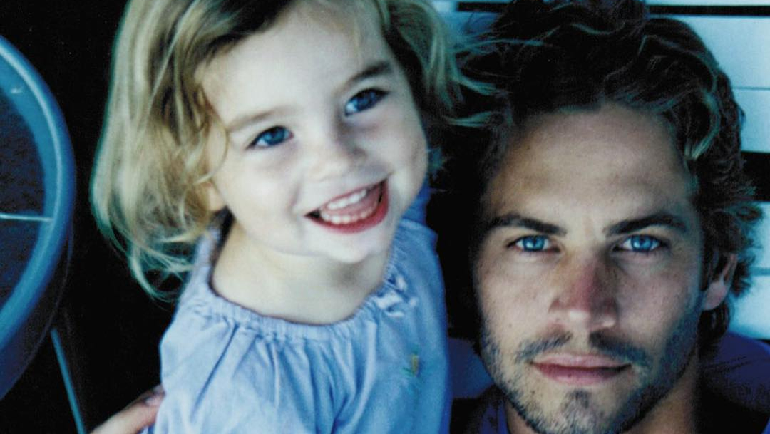 Hija de Paul Walker publica foto inedita del actor fallecido
