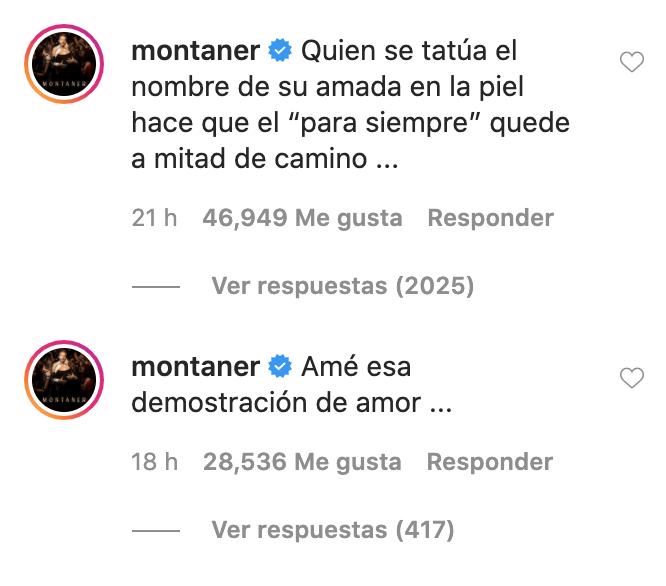 Camilo se tatua nombre de su esposa Evaluna Montaner