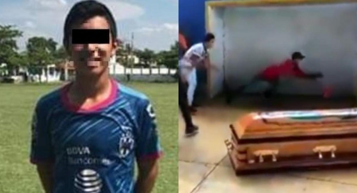 Amigos de Alexander lo despiden con último gol en Oaxaca