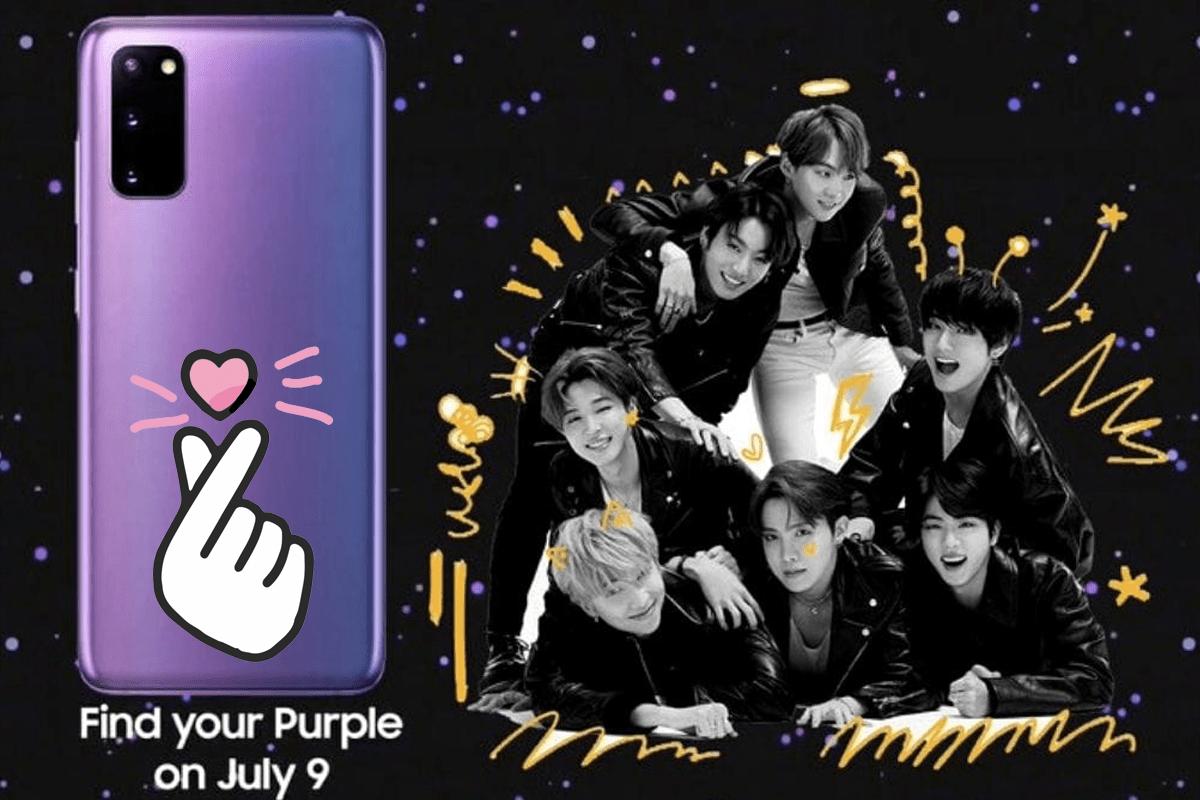 ¡BTS anuncia que tendrá un smartphone de otra galaxia!