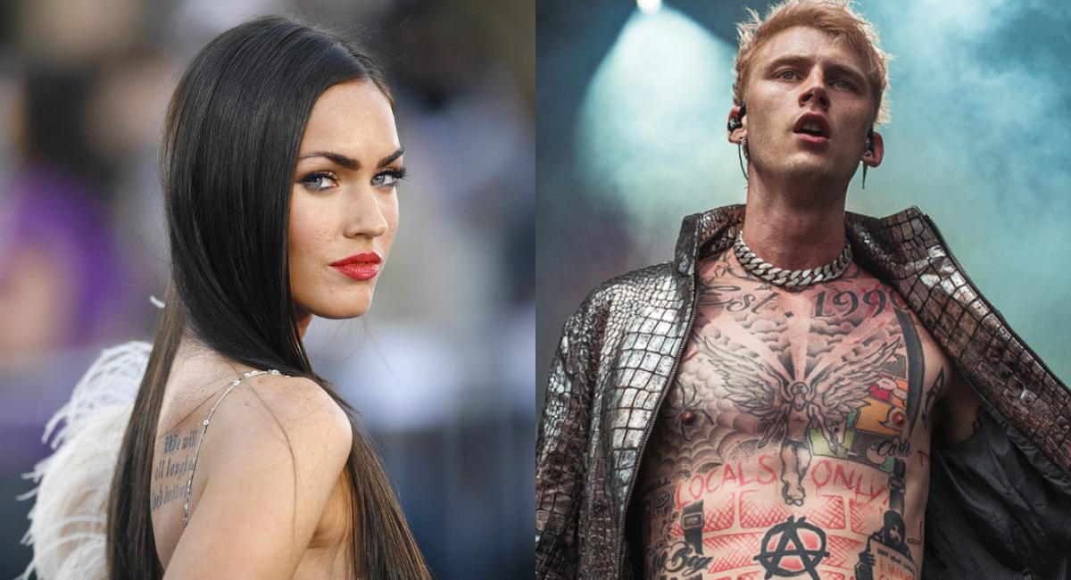 Megan Fox tiene nuevo novio tras divorcio: Machine Gun Kelly