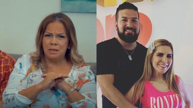 Karla Panini y Americo Garza mandan mensaje familia de Luna