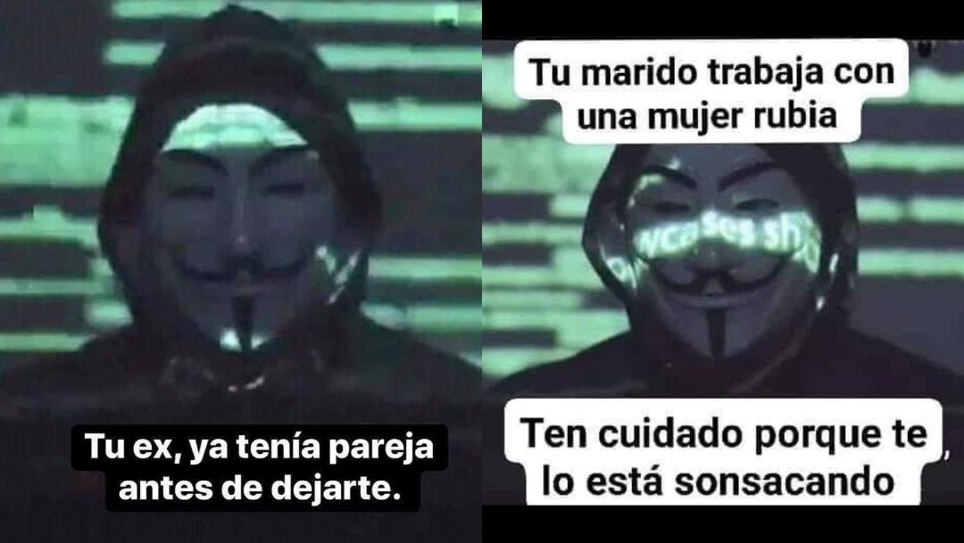 Memes De Anonymous 2020 En Espanol Crear Plantilla Erizos