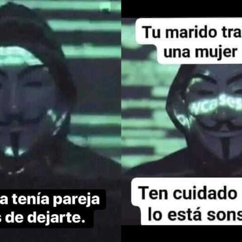 Memes de Anonymous 2020 en español crear plantilla